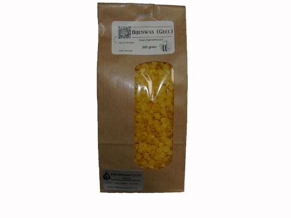 Bijenwas geel per   200 gram