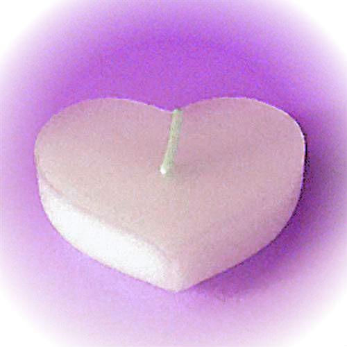 Gietmal Drijfkaars type: 6x Hart