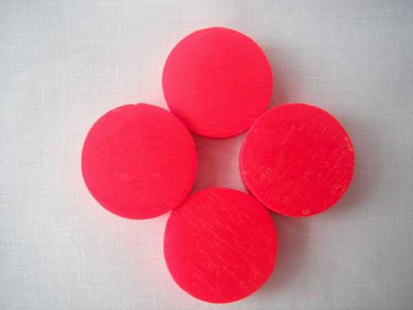 Kleurpil Fluor Rood per stuk