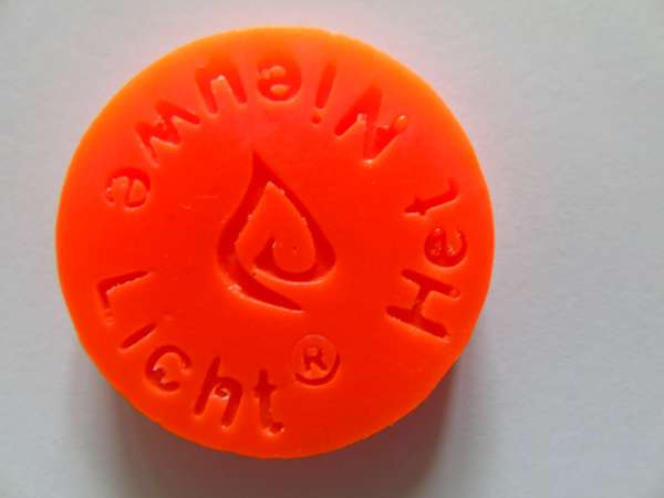 Kleurpil Fluor Oranje per stuk