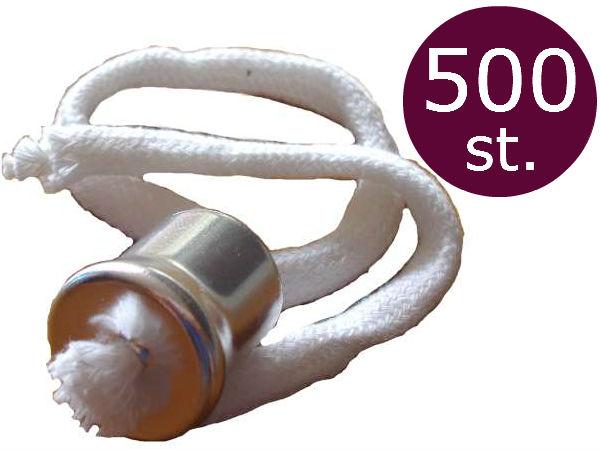 Lonthouder voor olielampen met kraag en 28cm lont  500 stuks