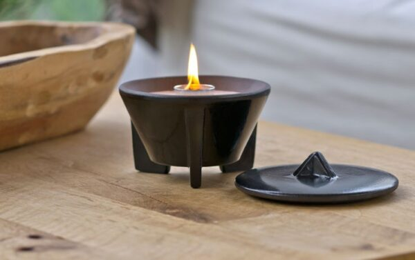 Smeltvuur Indoor CeraLava®  + Deksel + Paraffine