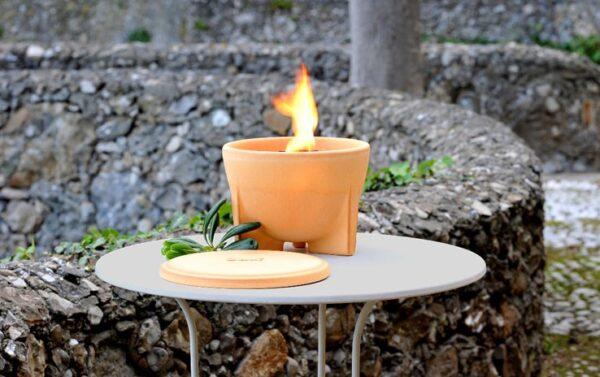 Smeltvuur Outdoor CeraNatur® + Deksel + Paraffine