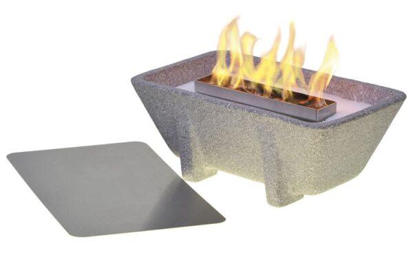Smeltvuur Outdoor XL Granicium® + Deksel + Paraffine