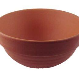 Terracotta schaal voor buitenkaarsen Dia. 15 cm