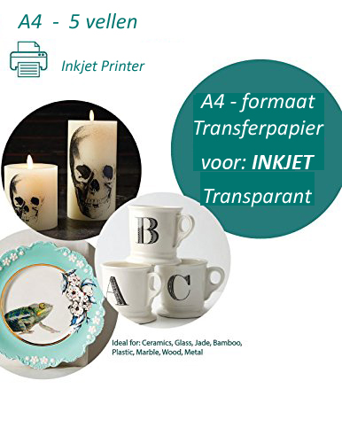 Transfer papier voor inkjet printer 20 vel