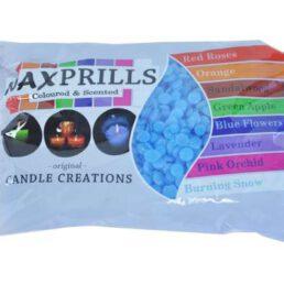 WaxPrills Blue Flowers