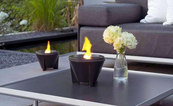 Smeltvuur Outdoor CeraLava® + Deksel + Paraffine
