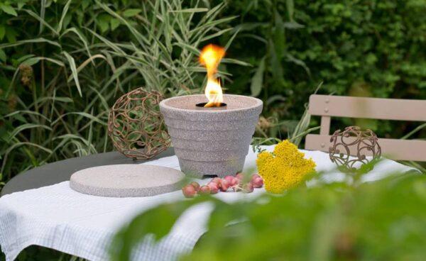 Smeltvuur Outdoor Granicium® + Deksel + Winterkap + Paraffine
