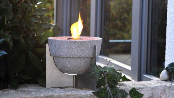 Smeltvuur Outdoor L Granicium®  + Deksel + Paraffine