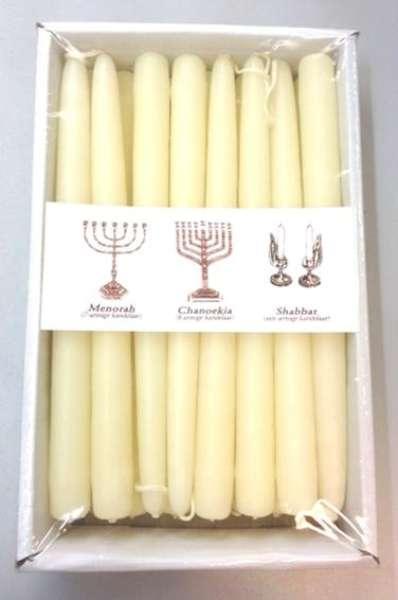 Chanoeka Menorah Shabbat kaarsen 1 doos 16 st.