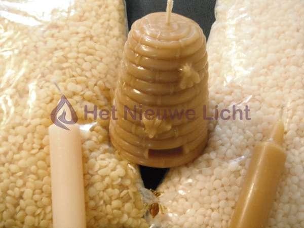 Bijenwas wit per   500 gram