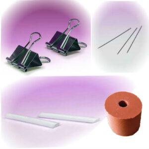 Losse materialen voor gietmallen
