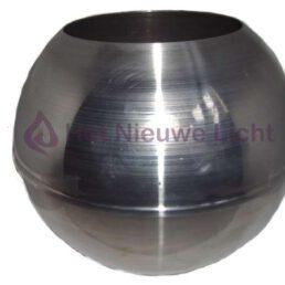 Gietmal Aluminum Bol 150mm Voor het maken van windlichten