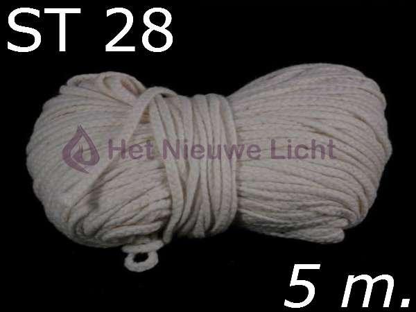 Stearinelont ST 28 per   5 mtr.