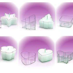 Theelicht cups transparant